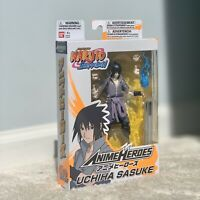Bandai Anime Heroes Naruto Shippuden Uchiha Sasuke 6 Action Figure Never Opened