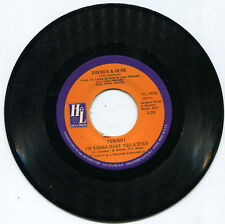 """Brenda & Herb (The Exciters) """"Sweet Dreamer"""" H&L 45rpm NM Store Stock"""