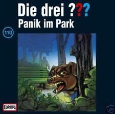 1 CD Die drei ??? Fragezeichen 110 Panik im Park