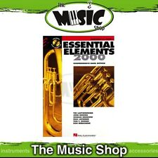 New Essential Elements 2000: Baritone T.C. Book 2 & CD - Band Method
