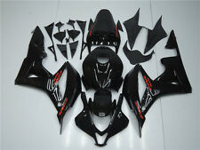 Fairing Fit for Honda 2007-2008 CBR600RR Injection Glossy Black Plastic Kit a069