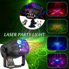 240 Muster Lichteffekt RGB LED Laser Projektor Disco Party Bühnenbeleuchtung DHL
