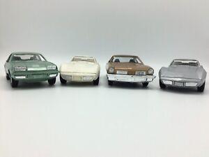 Dealer Promo Model Cars Lot Of 4