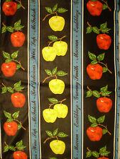 Gorgeous APPLE THEMED FABRIC (57cm x 50cm)