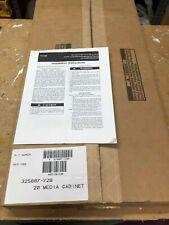 """Carrier 20"""" x 25"""" HVAC Filter Media Cabinet 325887-728 -  NEW"""