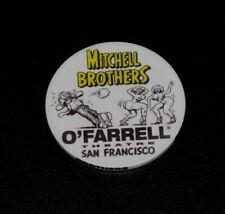 Rare! Mitchell Brothers O'Farrell Theatre Strip Club Dance Chip Lap Dance Token