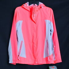 NWT Free Country Women's Jacket Size Small Hooded Ripstop Water & Wind Resistant