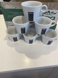LAVAZZA Coffee Porcelain Espresso, Americano Coffee Cups