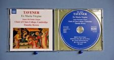 JOHN TAVENER – EX MARIA VIRGINE - CHOIR OF CLARE COLLEGE - TIMOTHY BROWN