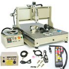 USB 4 Axis 6090 CNC Router Engraver Machine Woodworking Mill/Cutting 1.5KW + RC