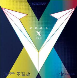 XIOM Vega X Ten Tischtennis Belag NEU originalverpackt kostenfreie Lieferung