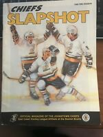 1989 1990 Johnstown Chiefs vs Knoxville Cherokees Slapshot Magazine ECHL Program