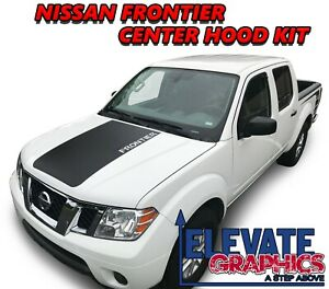 For Nissan Frontier Graphics Vinyl Stripes 3M Hood & Side Decals 2005-2020