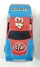 Tyco #43 Oldsmobile STP GM Stocker Slot Car ESMARK Blue / Red Tyco Electric Car