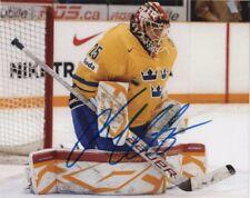 Sweden Jacob Markstrom Signed Autographed 8x10 NHL Photo COA #2