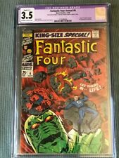 Fantastic Four King Size 6 CGC 3.5, 1st appearance Annihilus & Franklin Richards