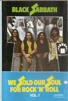 Black Sabbath ‎.. We Sold Our Soul For Rock 'N' Roll Vol 1.. cassette. Import