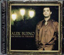 Alex Bueno Bachatas En Ternura   BRAND NEW SEALED  CD