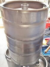 15.5 Gallon SS STRAIGHT SIDED  Beer Keg Still Boil Kettle Home Brew FERMENTER 15