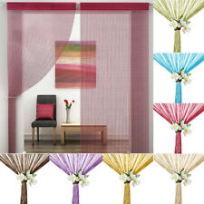 String Curtains Room Door Divider Window Panel Tassel Fringe Light Home Decor US