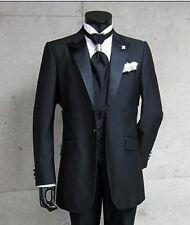 Custom Made Men's Suits Bespoke Wedding Groom Tuxedos Groomsmen Suit 3 Piece