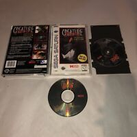 Sega Saturn Game CREATURE SHOCK 2 Disc SPECIAL EDITION Complete CIB Works TESTED