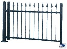 VO5007 Vollmer OO/HO Gauge Iron Fence (black)