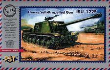 1/72  ISU-122S WWII SOVIET SELF-PROPELLED GUN  PST 72006 Models kits