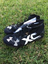 """""""NEW"""" Under Armour Racing XC Track / Field Shoes With Spikes Sz 12 Light Weight"""