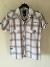 Crosshatch short sleeve shirt Size Large