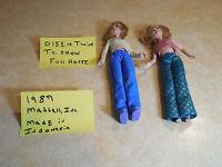 MARY KATE and ASHLEY Olsen CELEBRITY TWINS Dolls  1987 Mattel Vintage