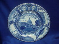The Washington Plate in Old English Staffordshire Ware Made in ENGLAND
