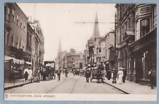 TUCK'S POSTCARD - HIGH STREET SOUTHAMPTON - #2028 'Town and City' - Unposted