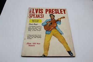 ELVIS PRESLEY SPEAKS, RAVE PUBLISHING CORPORATION 1956