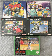 Rare Brand New Sealed Super Mario Nintendo 64 N64 Games Console