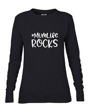 #Mum Life Rocks Women's Sweater Sweatshirt,Lightweight Jumper, M/L/XL/XXL