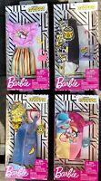 Barbie Minions Rise Of Gru Fashion Doll Clothes Top Shirt Dress Skirt Set 4 New