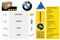 KIT TAGLIANDO TECNECO BW187S BMW SERIE 3 316/318/320D **Spedizione inclusa!!**