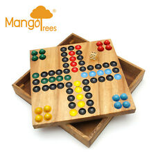 Mango Trees Brand Ludo-Classic Wooden Board Game