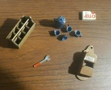 Vintage Miniature Or Dollhouse Items Lot Of 5