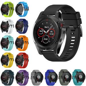 For Garmin Fenix 5 5X 5S 3 HR Replacement Wrist Watch Band Belt Strap 20 22 26mm