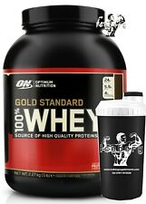Optimum Nutrition Gold Standard 100% Whey Protein 2.27kg! & Shaker!