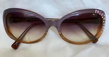 Jill Stuart Sunglasses Gradation Lens made with Swarovski crystal Rhinestone