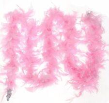 Womens Ladies Girls Luxury Feather Burlesque Boa 195cm 80g Fancy Hen Night Party
