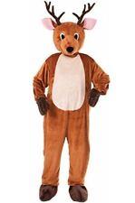 Reindeer Mascot Jumpsuit Adult Costume