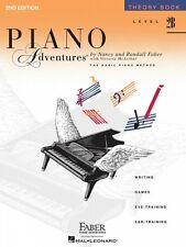 Level 2B Theory Book 2nd Edition Piano Adventures Faber Piano NEW 000420178