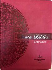 Biblia Letra Gigante, Reina Valera 1960, Imitación Piel Rosa
