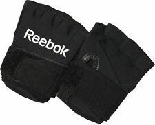 Schwarze Reebok Gel Inner Gloves Handschuhe Trainingshandschuhe mit Bandage Gr L