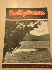 1936 Boat Magazine For Boat New York Yacht Clearwater Florida Waukegan Illinois