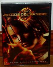 LOS JUEGOS DEL HAMBRE DVD NUEVO PRECINTADO ACCIÓN CIENCIA FICCION (SIN ABRIR) R2